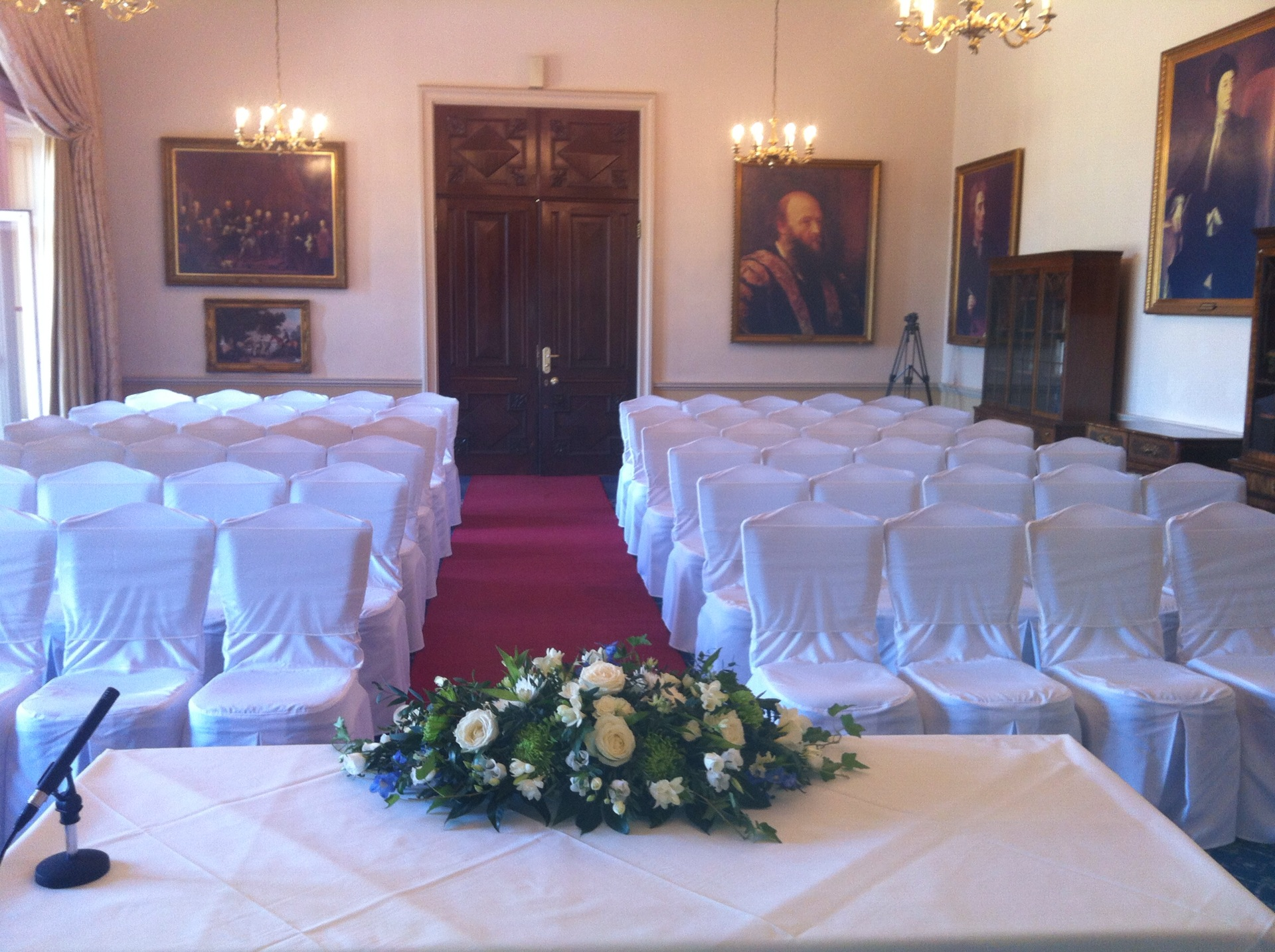 chair cover hire for weddings and events